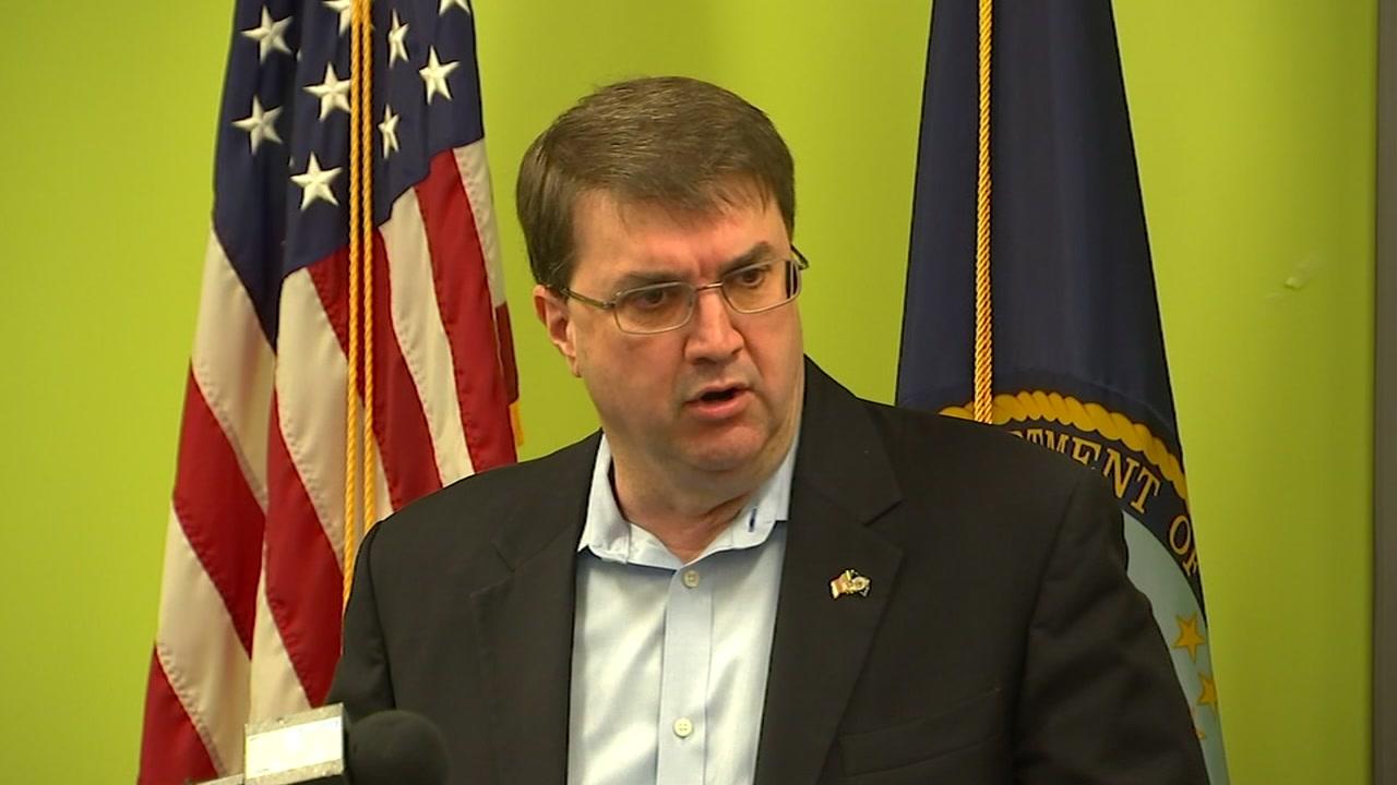 VA Secretary Robert Wilkie talked about veteran health care Monday.