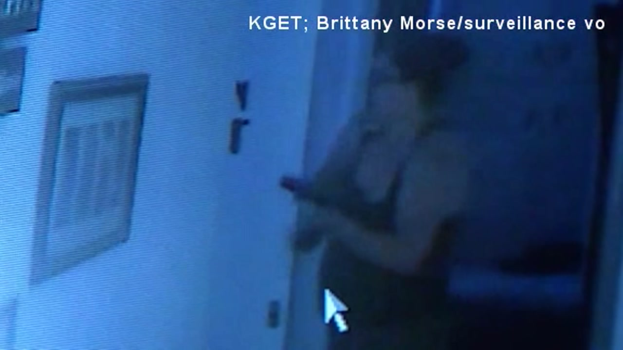 A CA mother is being applauded for her quick thinking after she held a burglar at gunpoint in her home until police could arrive.