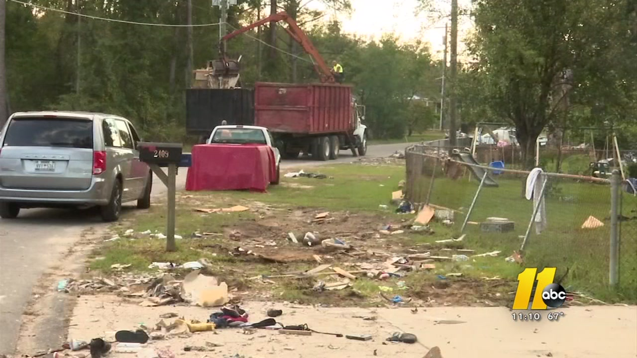 Hurricane Florence sends Cumberland County landfills into overdrive.