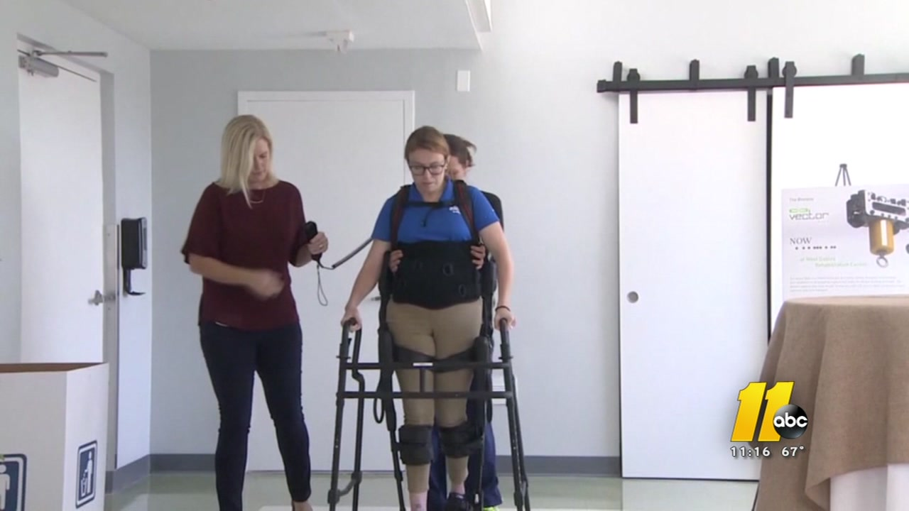 A new exoskeleton gives hope to patients with spinal-cord injuries.