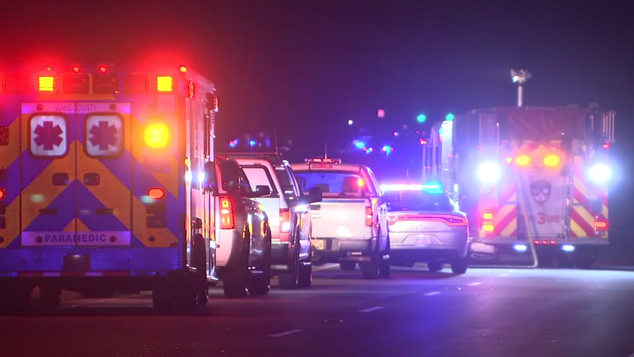Chemical spill shuts down US 1 in Wake Forest for hours.