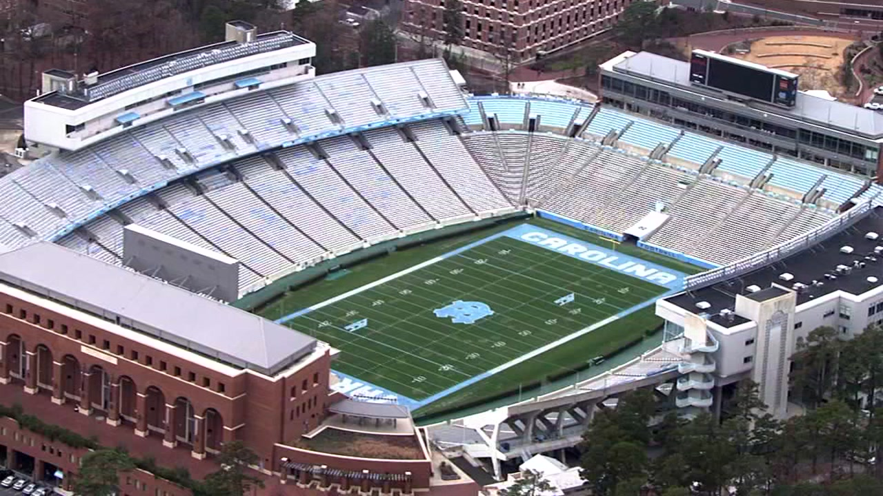 UNC to change plaques at Kenan Stadium.