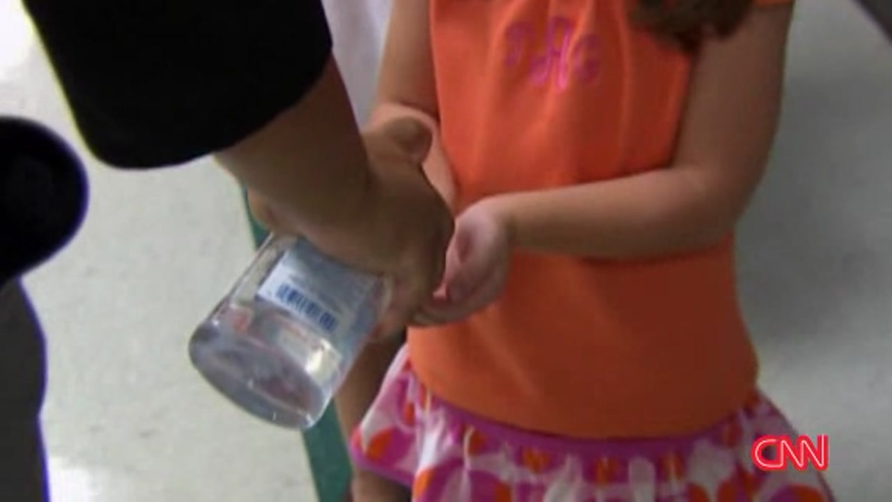 Researchers found that kids who cleaned their hands with sanitizer instead of soap reduced their missed days of school