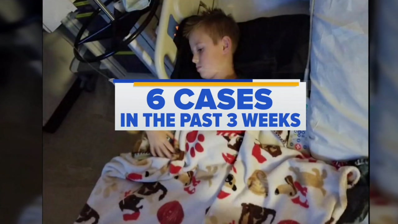 Doctors and parents are on alert because of a spike among children in a mysterious and rare disorder