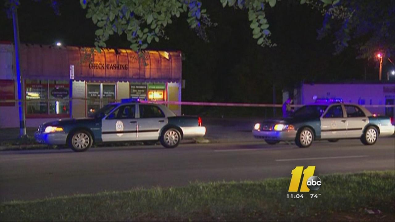 Man shot in downtown Raleigh