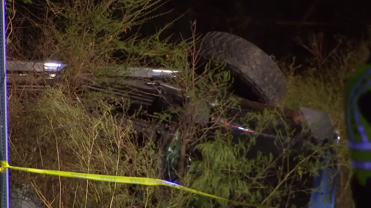 One person died Monday night when a truck crashed in Wake County, according to the Cary Police Department.