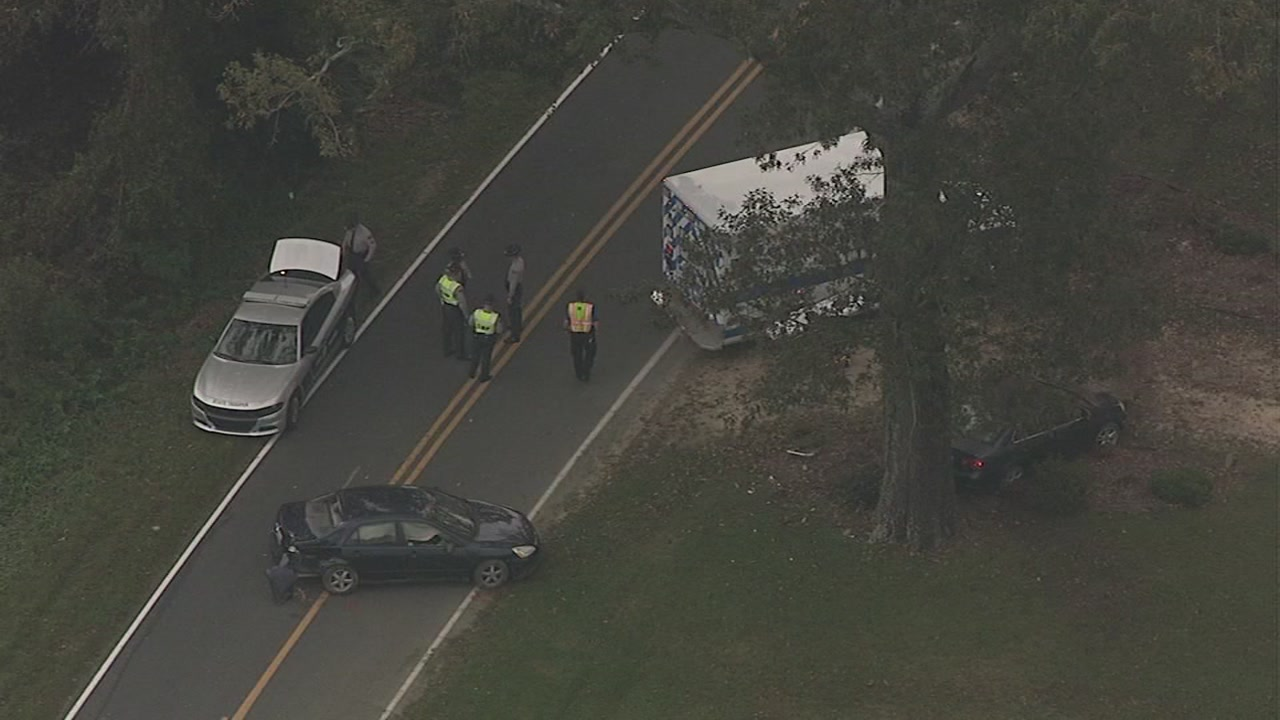 At least one person is dead following a multi-vehicle crash in Harnett County on Wednesday.
