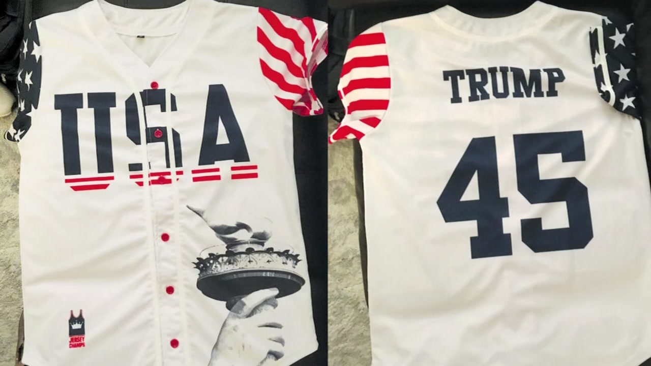 School principal forces student to remove a jersey with President Trumps name.
