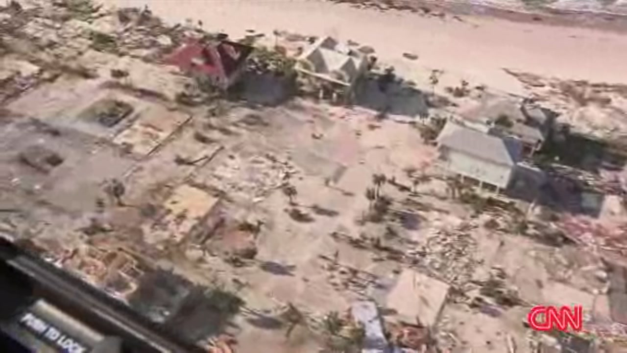 Hurricane Michael left a path of destruction behind in Mexico Beach.