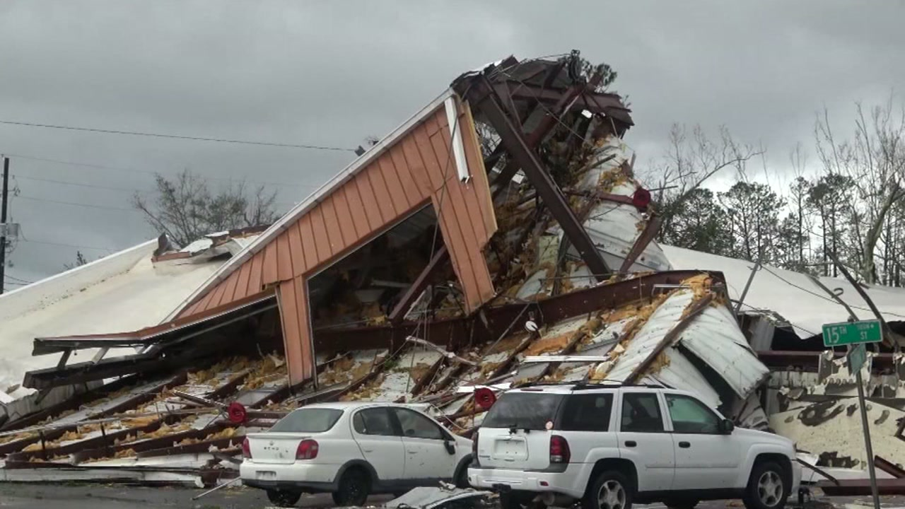 Officials said Hurricane Michael has claimed the lives of at least two people after battering the Florida coast and moving to Georgia.