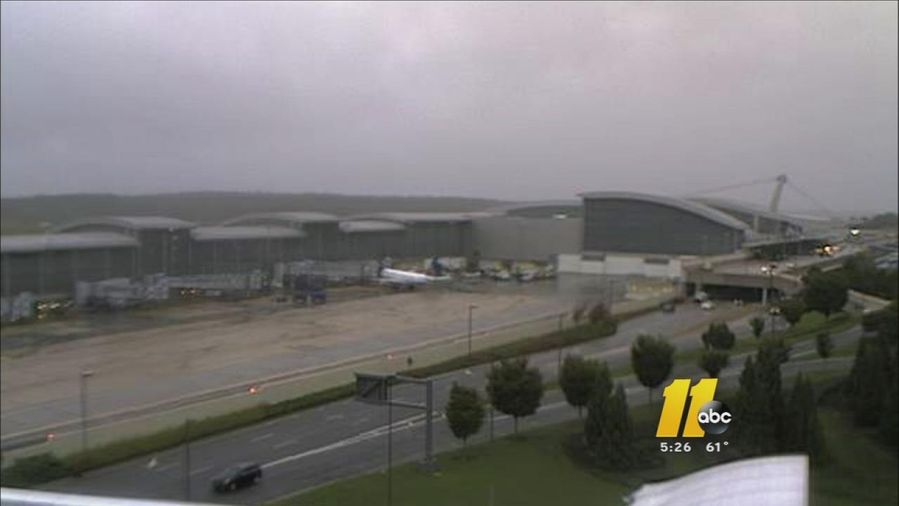 Plane lands safely at RDU after scare