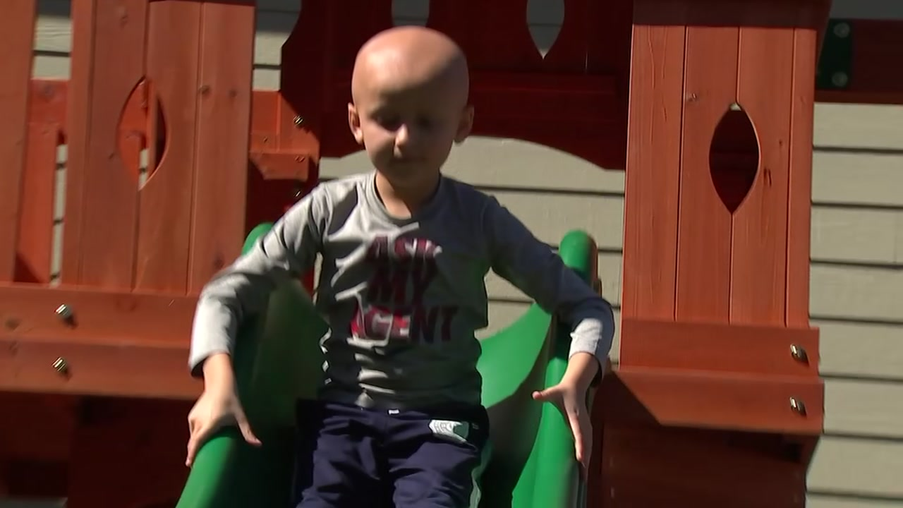 Roc Solid Foundation builds playset for pediatric cancer patient