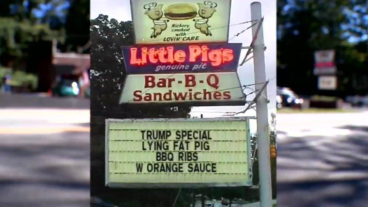 Asheville barbecue joint says Trump Special sign is fake (WLOS)