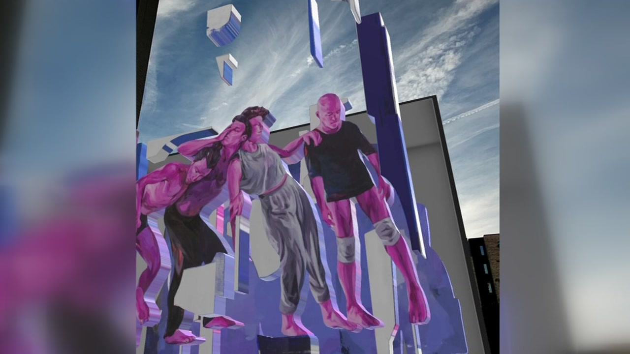 Google Fiber, partners unveil augmented reality mural in Downtown Raleigh