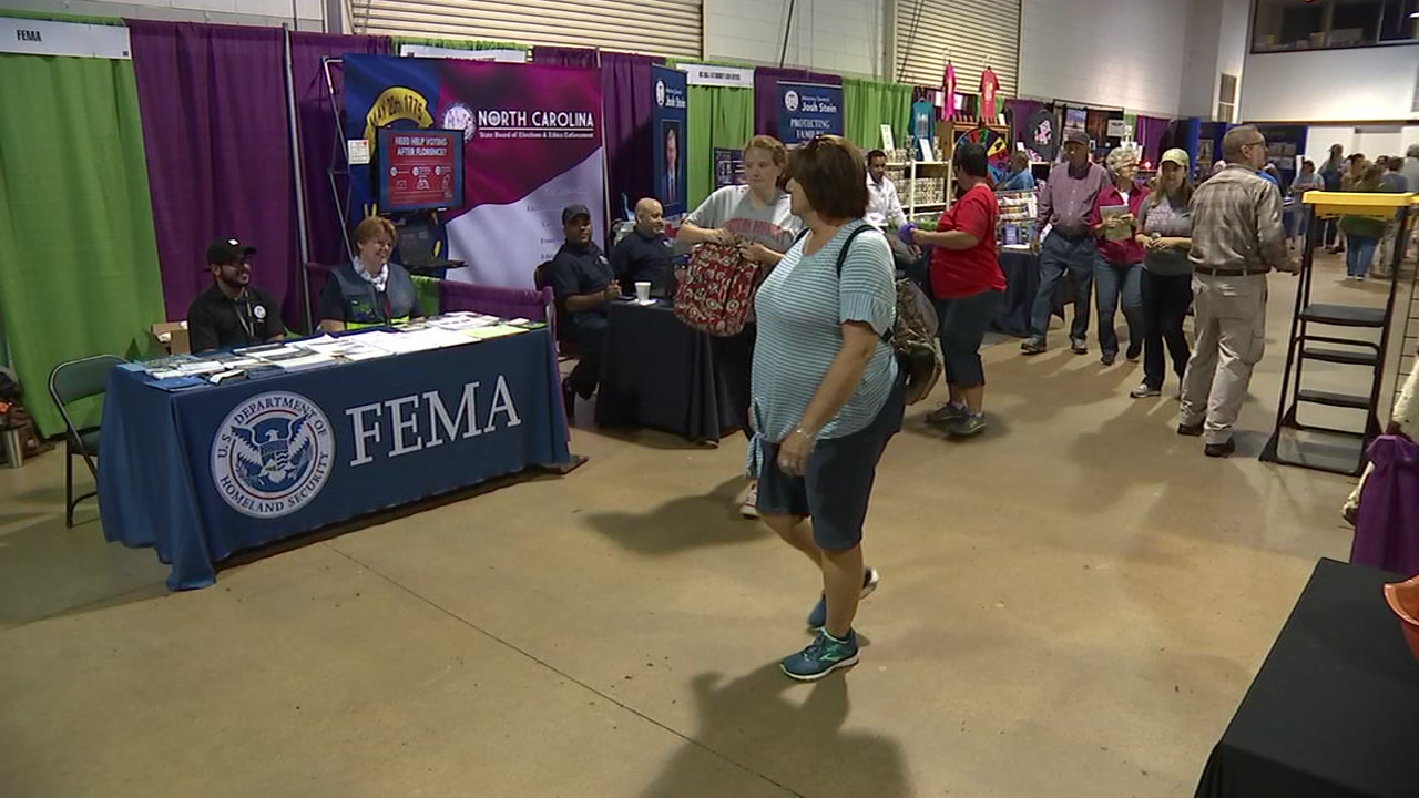 Officials with FEMA will be at the NC State Fair full of advice.