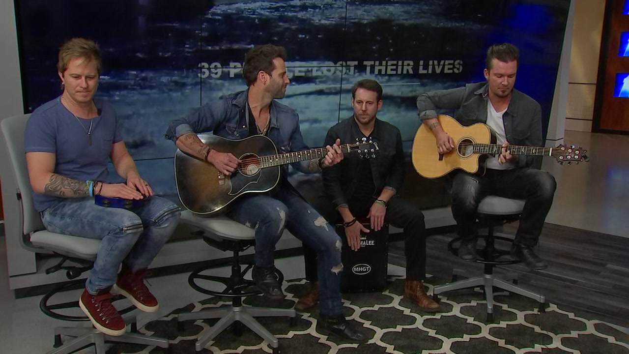 Country music band Parmalee on Friday released a Hurricane Florence relief song.