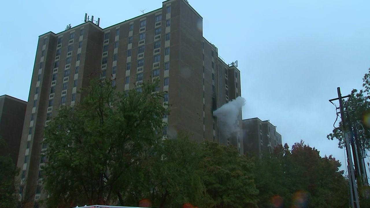 Glenwood Towers has a history of false fire alarms, records show.