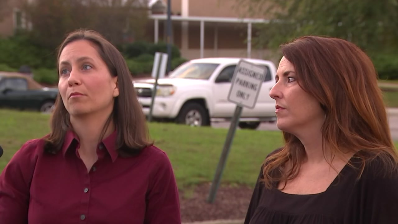 Parents at Carys Reddy Creek Middle School voice concerns on reassignment plan.