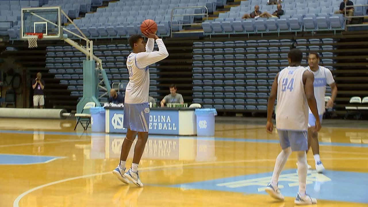 UNC basketballs big shooters talk talent