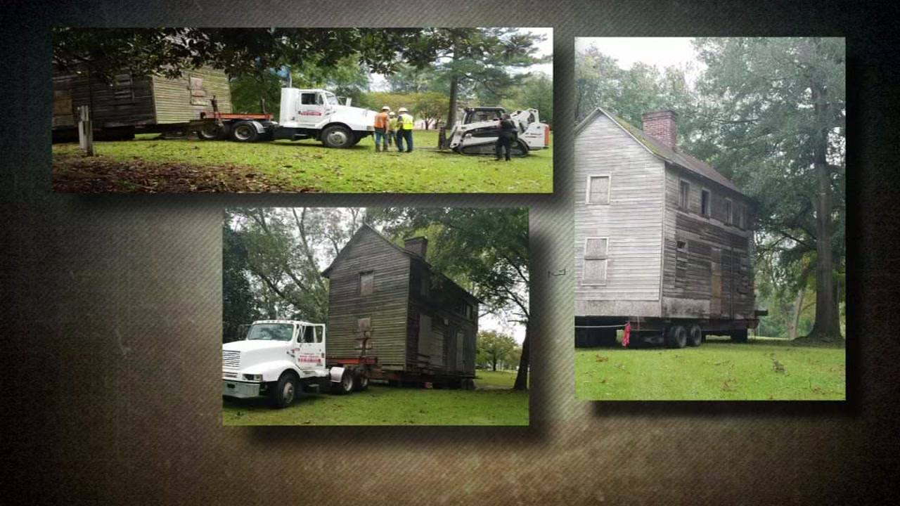 Three Civil War era houses are being moved in Fayetteville.
