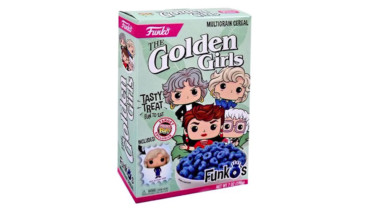 The Golden Girls-themed cereal is on sale at select Target stores.