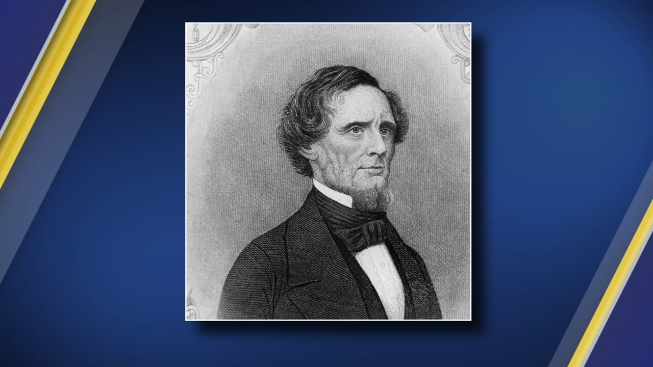 A North Carolina county has repealed a 1959 resolution that named a U.S. highway stretch to honor Confederate President Jefferson Davis, but for now, the marker will remain.ution.