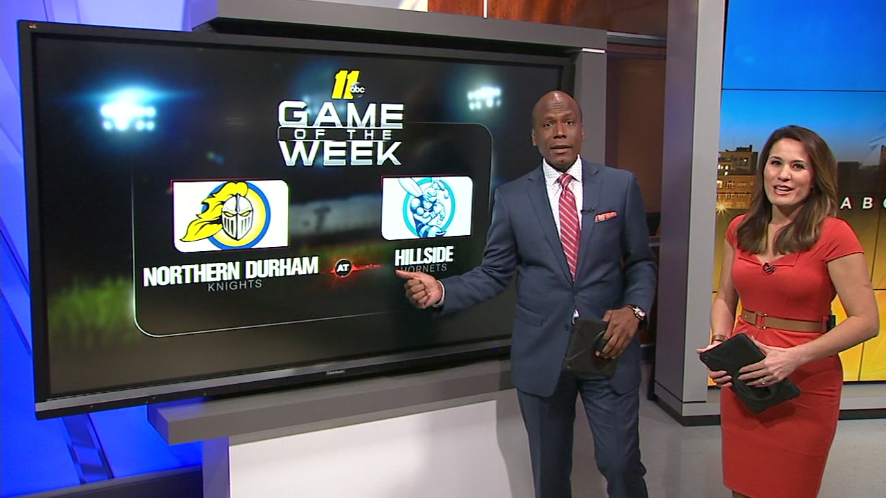 ABC11 Game of the Week: Northern Durham at Hillside