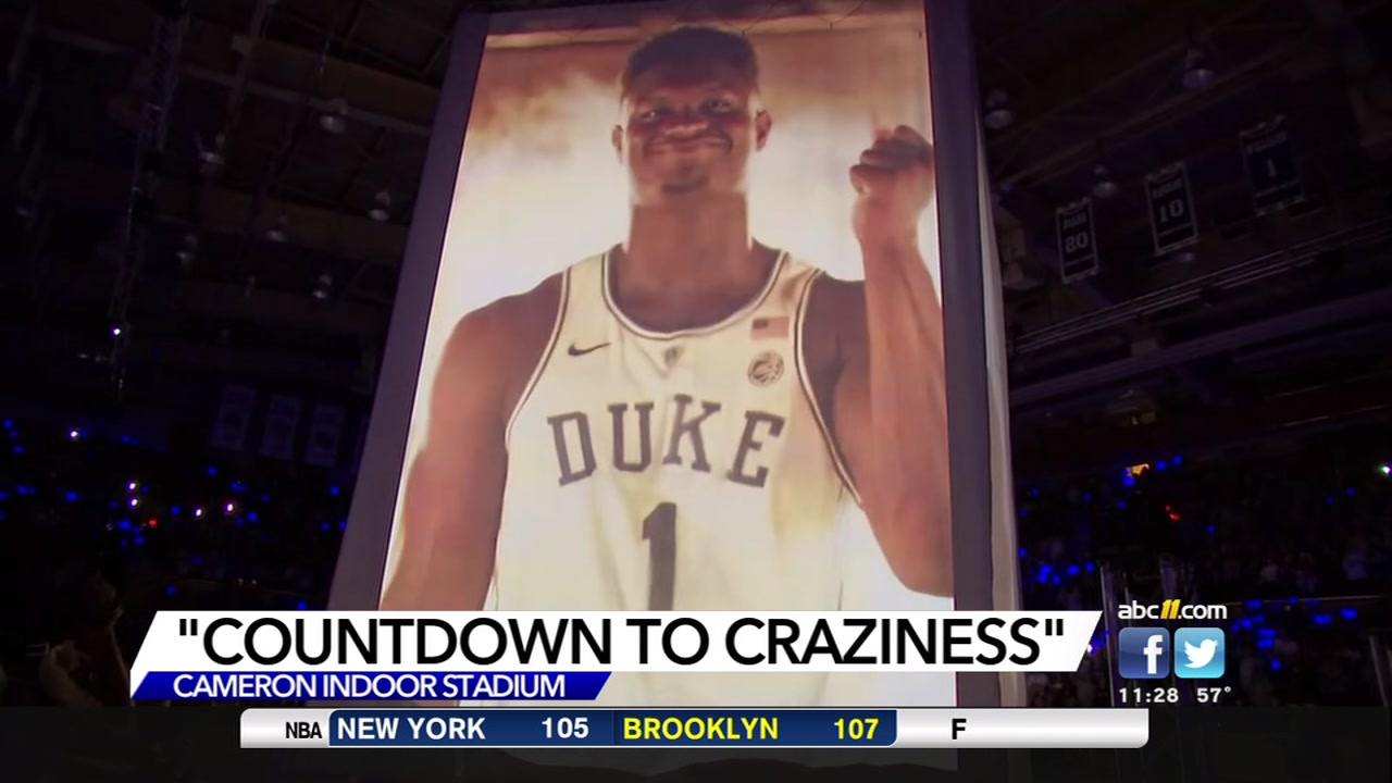 Countdown to Craziness gave Duke fans a first look at the most-talented freshman class in the country.