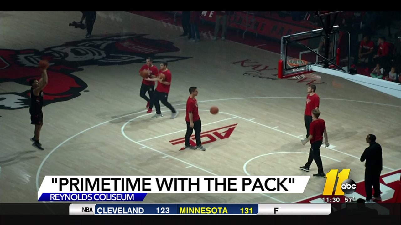 Fans got a treat at Primetime with the Pack to unofficially tip off the Wolfpack basketball campaign.