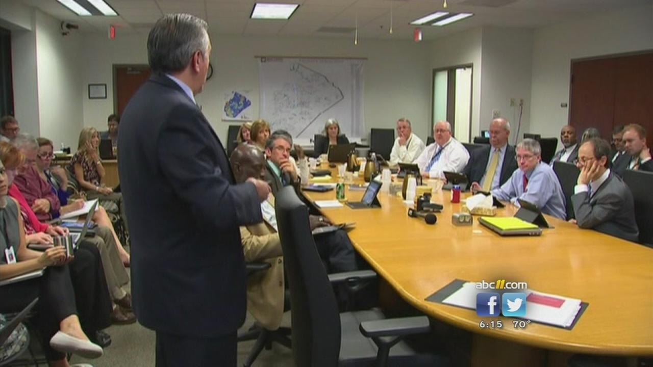Parents disappointed by Wake school plan