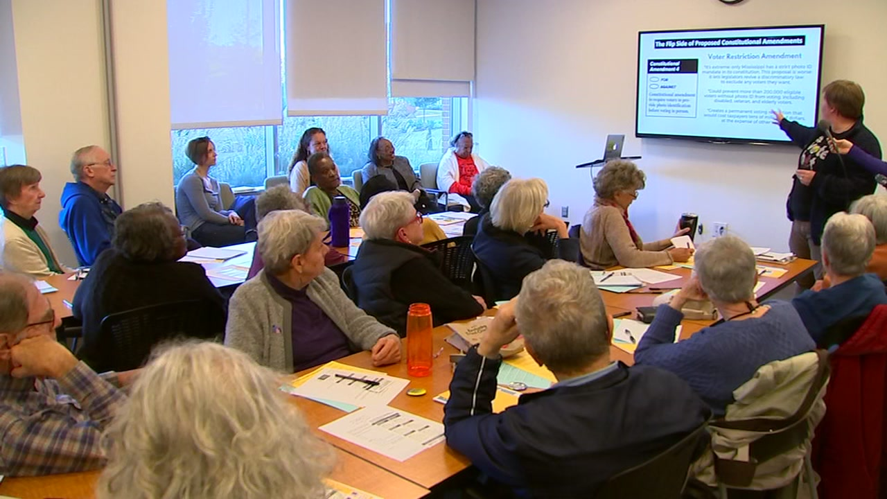 Social rights groups hold town hall over six proposed constitutional amendments on fall ballot