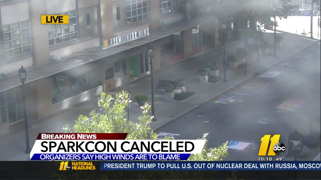 Sparkcon canceled due to overnight winds