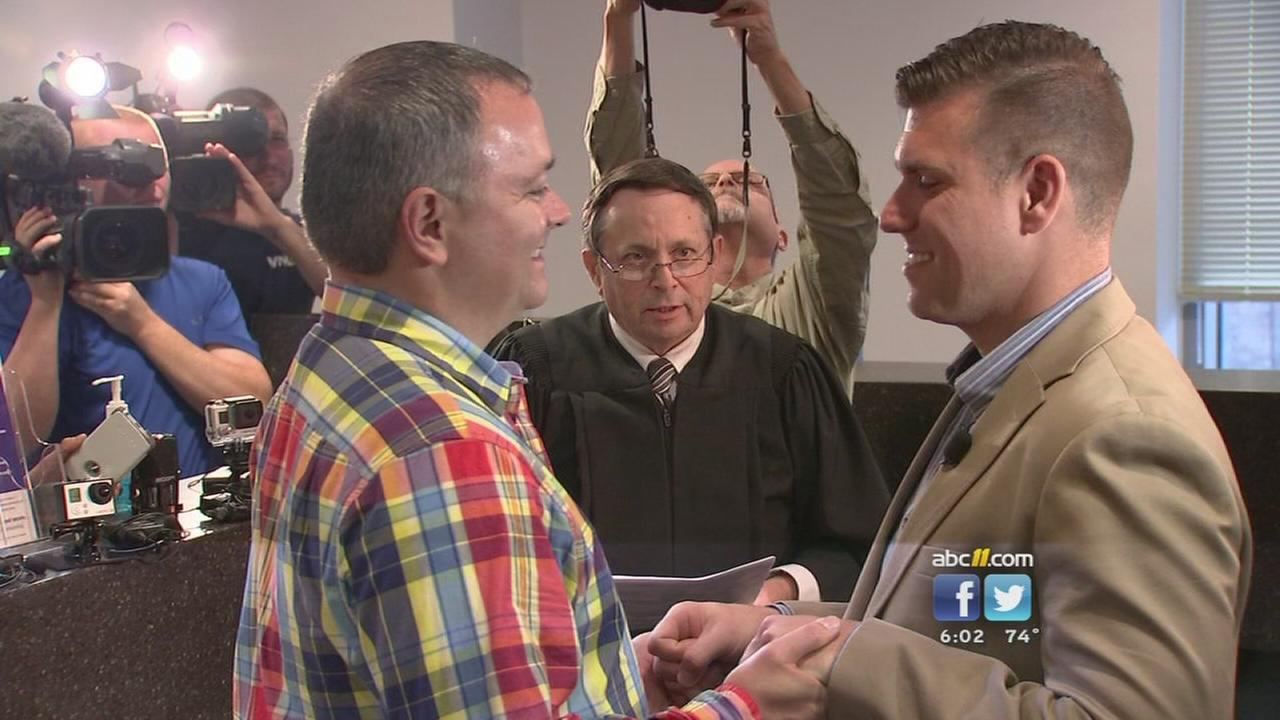 One year since same-sex marriage became legal