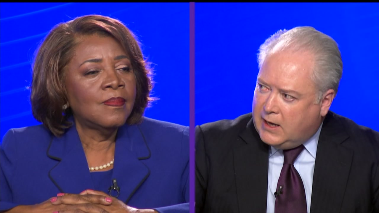 Rep. George Holding is in a tough fight with Democratic challenger Linda Coleman.