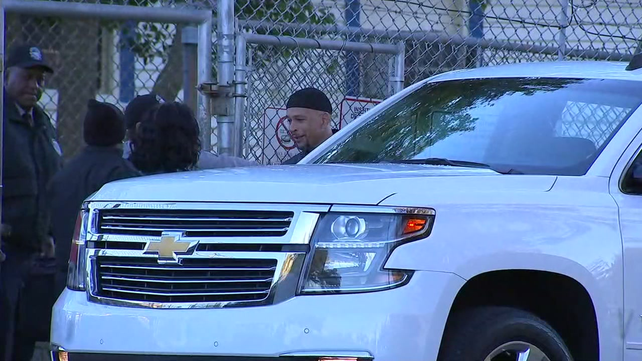 Rae Carruth was released from prison Monday after serving more than 18 years