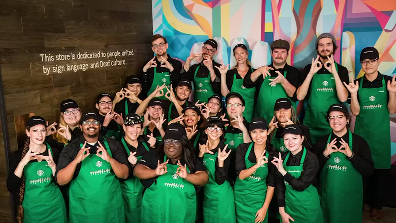 Starbucks opens first ASL store