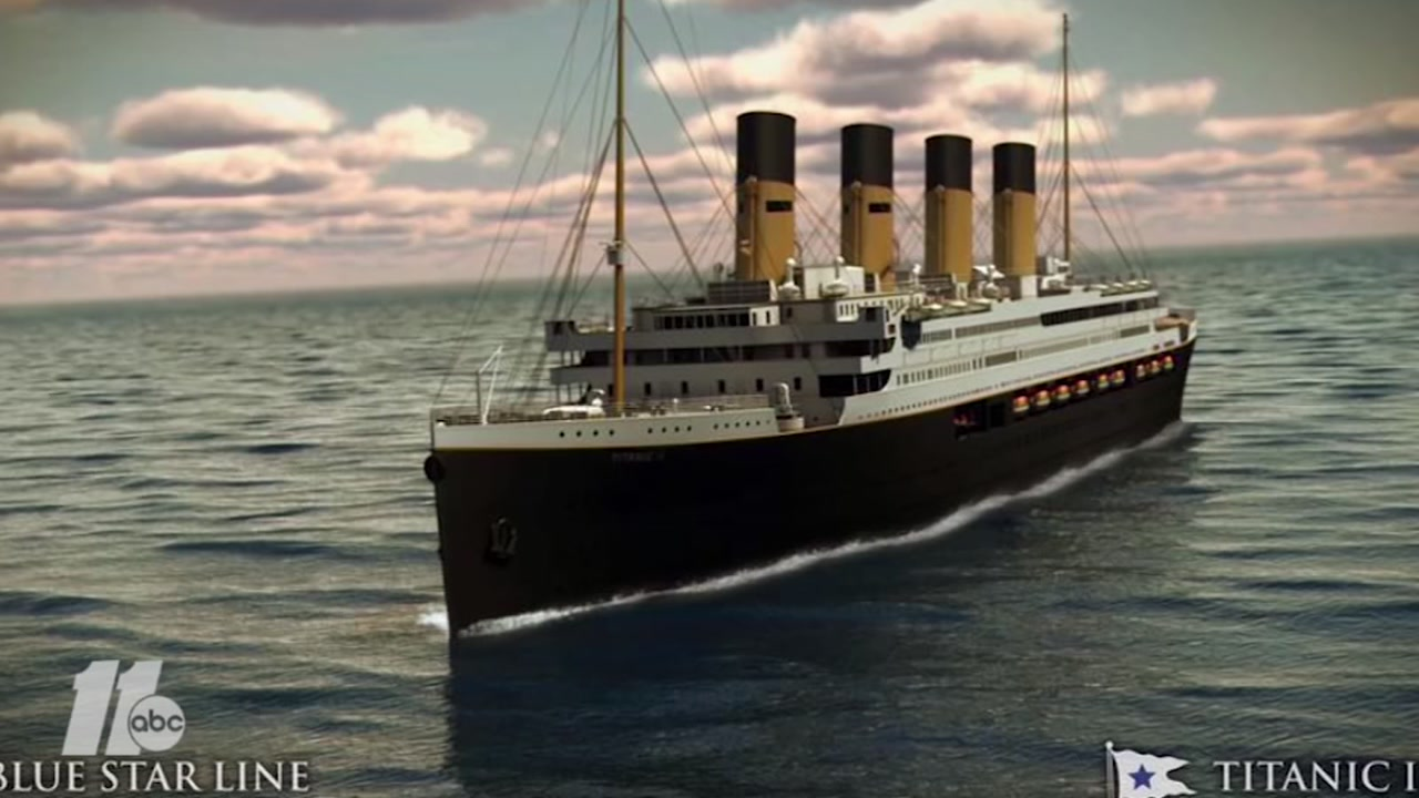 The Titanic II is scheduled to set sail in 2022.