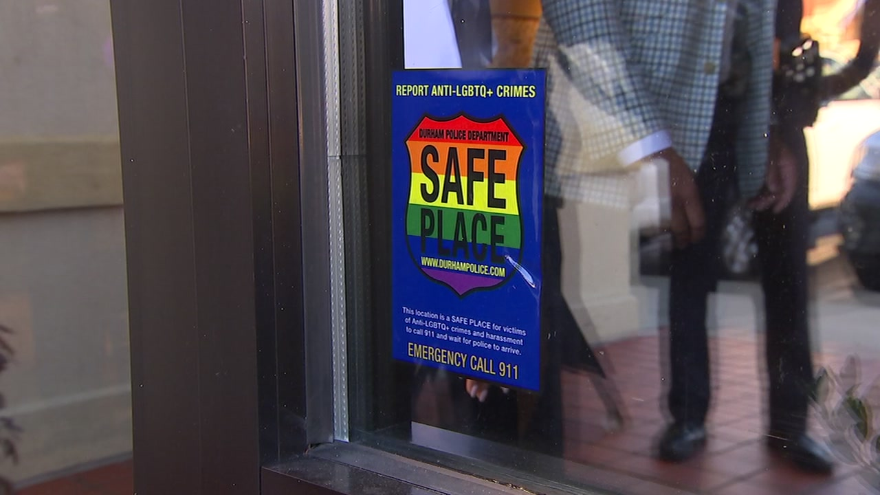 Durham police announced a new Safe Place initiative.