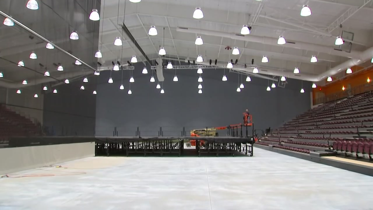City leaders will celebrate the grand opening of the new Rocky Mount Event Center Thursday.