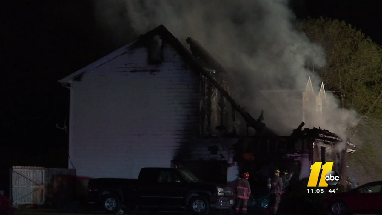 A family of four is without a place to live after their home was consumed by flames Thursday evening.