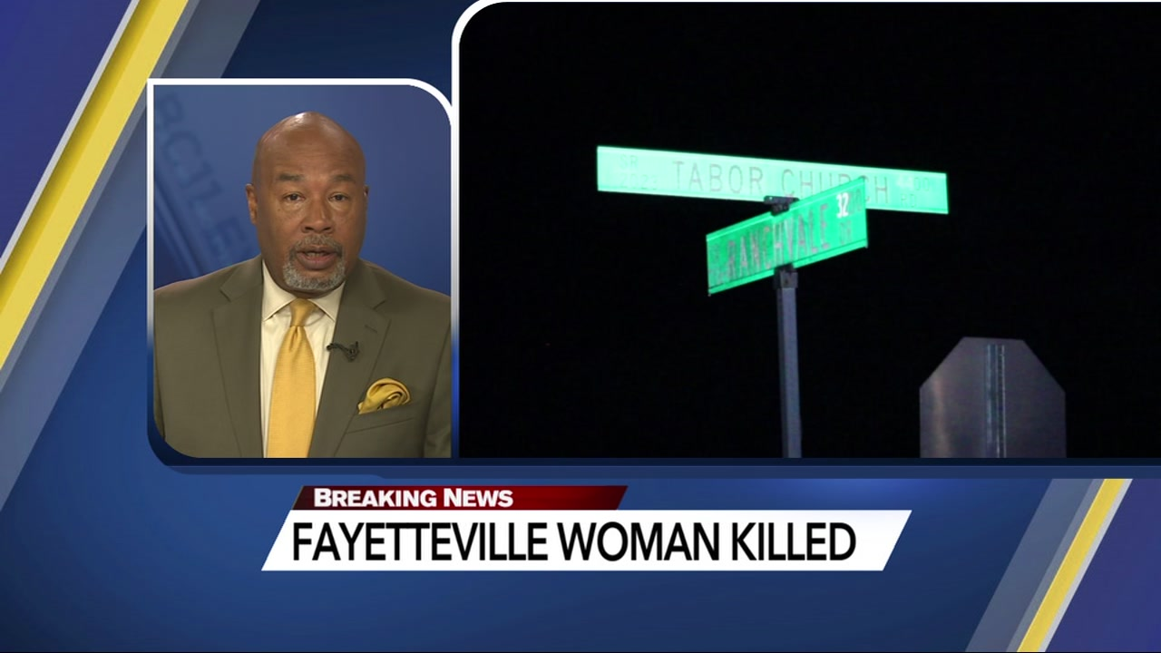 Woman killed after being struck by car in Fayetteville