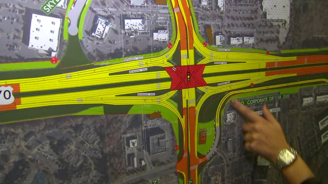 The NC Department of Transportation wants to make improvements to U.S. 70 (Glenwood Avenue) between I-540 in Raleigh and Lynn Road in Durham.