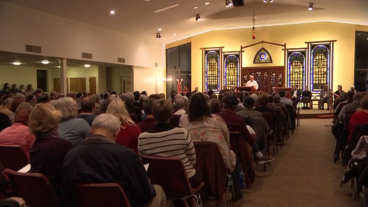 Three days after the massacre hundreds of miles away in Pittsburgh, at the Kehillah Synagogue, was a space to grieve in Chapel Hill.