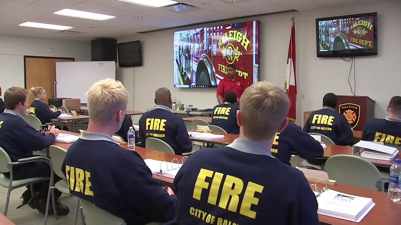 In a recent Facebook video published by the City of Raleigh, the recruitment ad for Raleighs Fire Academy features an all-female cast.