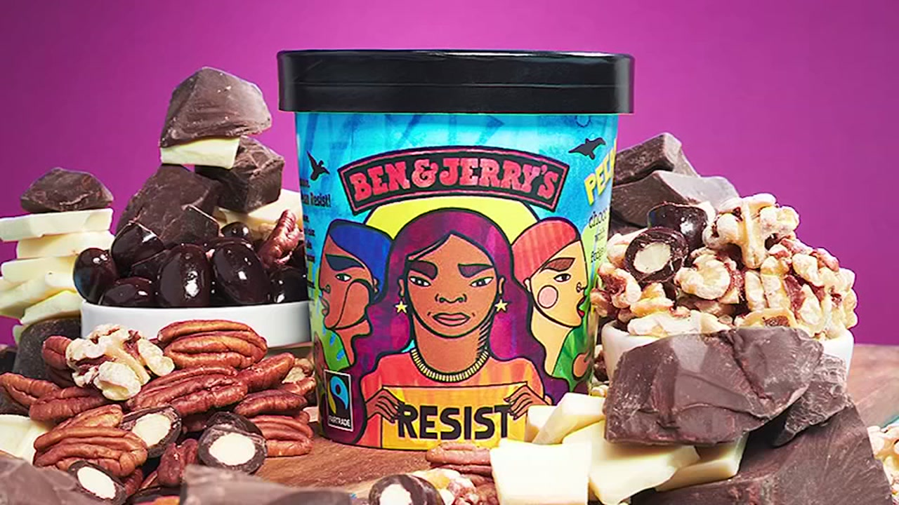 Ben and Jerrys is taking a stand against what it calls the Trump administrations regressive policies by rebranding a flavor.