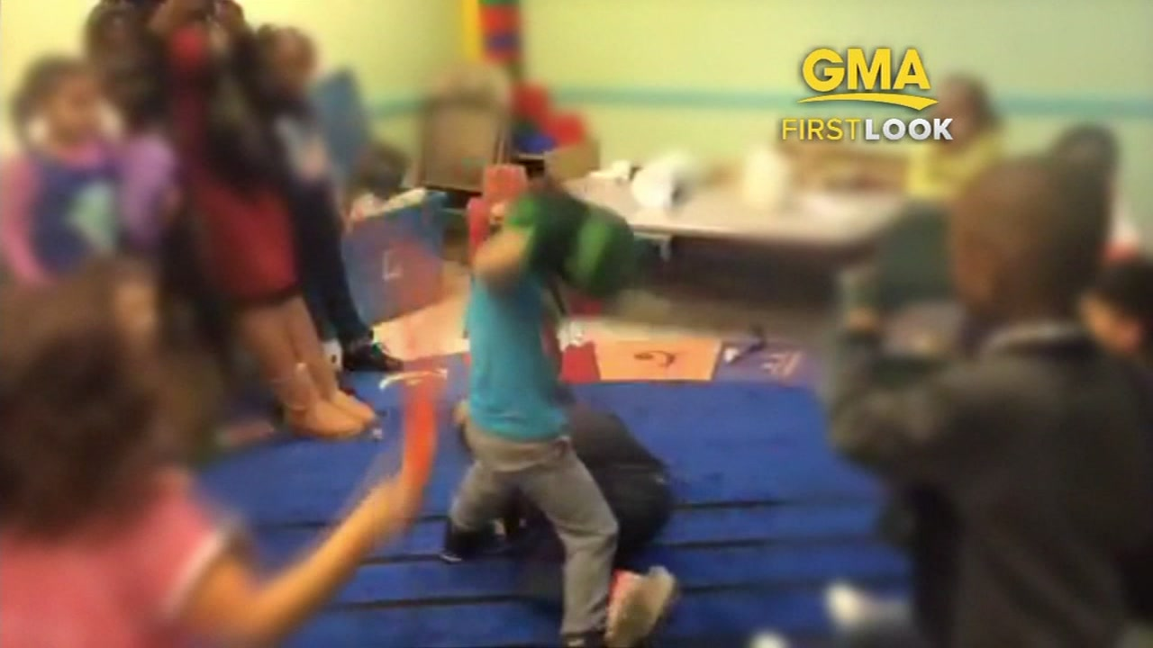 A Missouri mother said shes furious after seeing video of teachers at her sons day care encouraging them to fight each other.