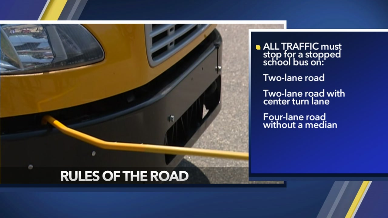 To avoid tragic school bus accidents, NCDOT reminds drivers of the rules of the road.