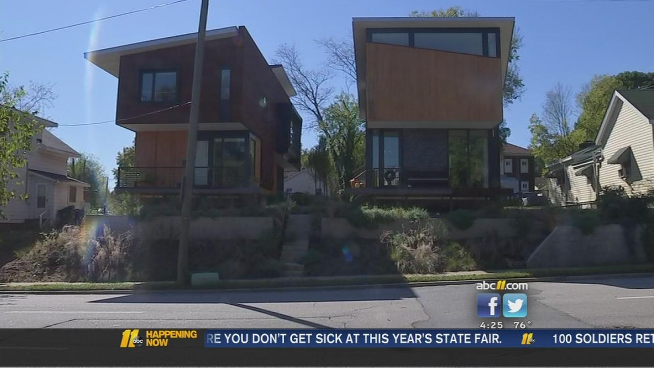 modern homes come to downtown raleigh