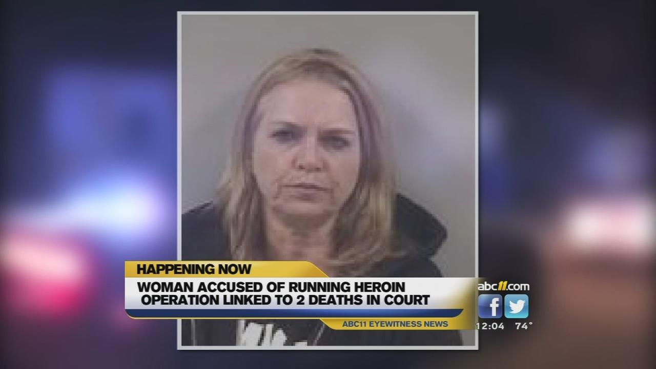 Woman accused of running heroin
