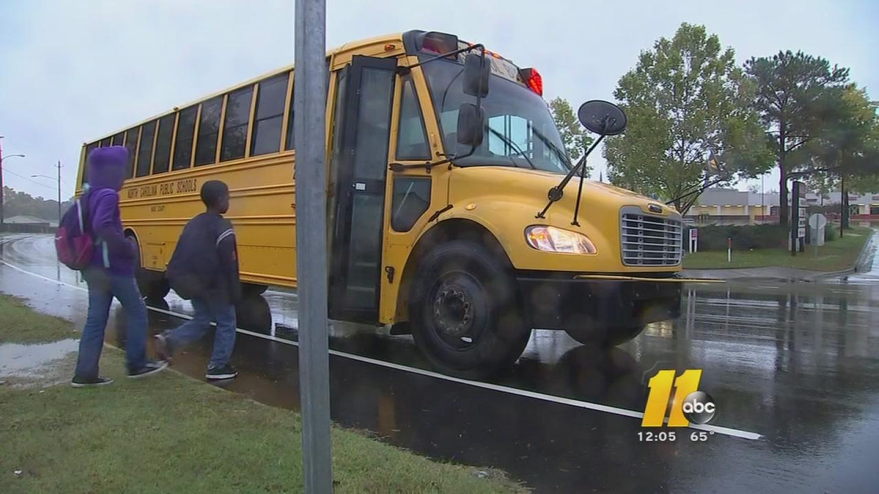 Wake County school bus delays after strike?